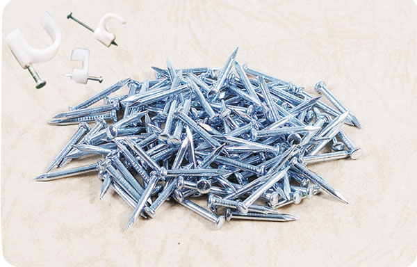 E.G.wire holding nails