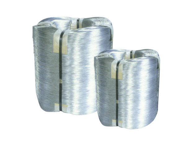Hot-dipped galv.iron wire