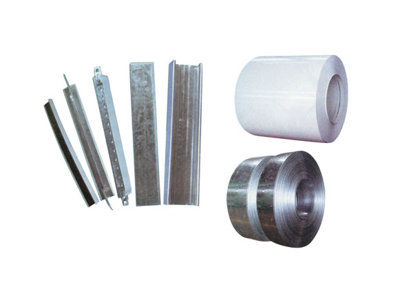 Steel strip roll with zinc plating/Color-coated steel plate/C-channel,t-bar